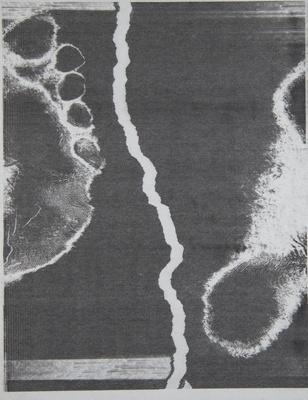 Foot; Sheridan, Sonia Landy; 1973; 1981:0117:0015