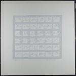 Untitled [Contact sheet photos of Sonia Sheridan] ; Barsotti, Frank; 1970; 1972:0096:0017