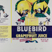 Grapefruit Juice Brand Florida Bluebird; Frampton, Hollis; 1979; 2000:0111:0001