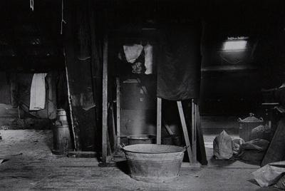 Untitled [Metal basin]; Saur, Francoise; ca. 1970s; 1986:0017:0006