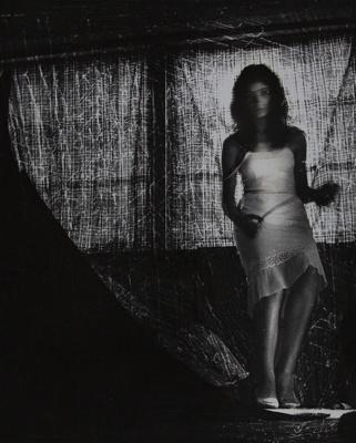 Untitled [Woman in white dress] ; Sannes, Sanne; ca. mid 1960s; 2000:0168:0001