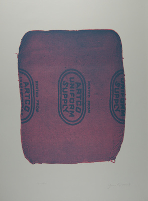 Untitled [Artco Uniform Supply]; Lyons, Joan; 1973; 1974:0050:0002