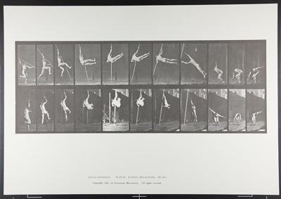 Jumping; pole vaulting. [M. 164]; Da Capo Press; Muybridge, Eadweard; 1887; 1972:0288:0038