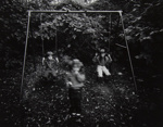 Untitled [Children on swings]; Riss, Murray; ca. 1970s; 1972:0194:0034