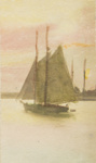 Untitled [Sailboat]; Thompson, Fred; ca. 1900s; 1986:0024:0002