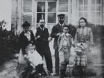 Ma premiere photographie, Pont de l'Arche (Portrait de ma famille); Lartigue, Jacques-Henri; 1902; 1977:0091:0004