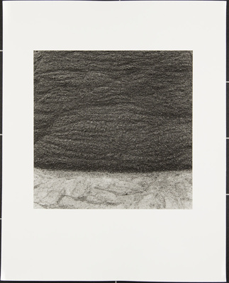 Untitled [Stone and macadam]; Cooper, John; ca. 1983; 1983:0016:0019