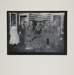 [Untitled, thirteen adults and two children sitting in front of the American flag] ; Wells, Alice; c.a. 1960s; 1976:0025:0002