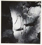 [Untitled, image of stone crevices] ; Wells, Alice; 1964; 1972:0287:0094