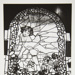 [Untitled, image of stained-glass window]; Wells, Alice; ca. 1965; 1988:0029:0005