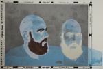 Untitled [Two heads]; Matus, Barry; 1973; 1978:0062:0001