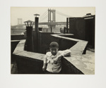 Monroe St. [Boy on Roof]; Rosenblum, Walter; 1949; 1973:0025:0001