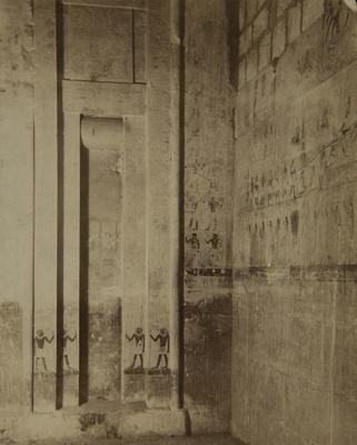 Tomb of Ti: Northwest Angle; Lekegian & Co.; undated; 1979:0120:0001