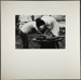 [Two stooped figures over a table]; Christian, John; 1969; 1982:0075:0005