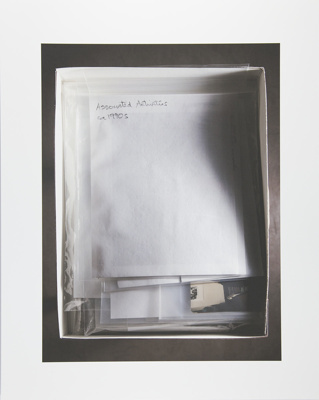 Untitled [Associated activities]; Manchee, Doug; 2008; 2009:0060:0023