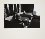 Untitled [Elderly Man in Diner Booth]; Brese, Denis; 1973; 1973:0061:0014