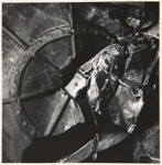 [Untitled, Abstraction of crushed metal]; Wells, Alice; ca. 1962; 1972:0287:0128