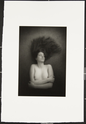 Untitled [Nude woman with crossed arms]; Cooper, John; ca. 1983; 1983:0016:0026
