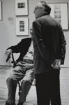 John Wood and Nathan Lyons at Grey Art Gallery Opening; Brown, David L.; 2009; 2009:0860:0001