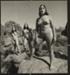 Untitled [Three masked women standing on a rock formation]; Dutton, Allen; ca. 1970s; 2000:0142:0015