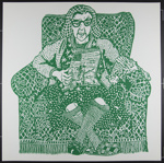 Untitled [Elderly woman reading with cat]; Grooms, Mimi; 1970; 1972:0096:0062
