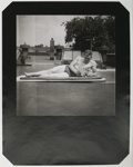 Untitled [Body builder reading]; Gay, Arthur; ca. 1920s -- 1940s; 1981:0013:0017