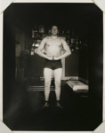 Untitled [Body builder in gym]; Gay, Arthur; ca. 1920s -- 1940s; 1981:0013:0008