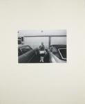 Untitled [Woman between cars]; Goodman, Greg; 1973; 2011:0016:0014
