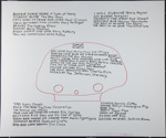 Untitled [Song titles]; Knowles, Christopher; ca. 1981; 1981:0123:0018