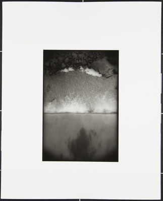 Untitled [Small waterfall and rocks]; Cooper, John; ca. 1983; 1983:0016:0023