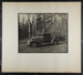 [woman in driver's seat of car parked in woods]; Hahn, Alta Ruth; ca.1930; 1982:0020:0026
