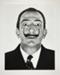 Dali's Moustache; Halsman, Philippe; 1953; 1987:0014:0008