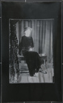 [Untitled, woman in a dark dress and veil]; Wells, Alice; ca. 1960; 1988:0026:0011