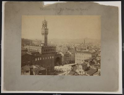 Florence: From the Palazzo del Podestà; Fratelli Alinari; ca. 1890; 1979:0116:0008