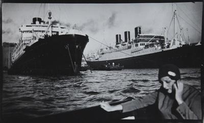 Bibi in Marseille; Lartigue, Jacques-Henri; 1928; 1977:0091:0001