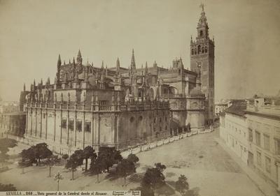 Vista general de la Catedral desde el Alcazar; Laurent, Jean; undated; 1979:0111:0002