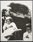 Untitled, [woman and two children]; Wells, Alice; c.a. 1970; 1988:0023:0006