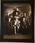 Untitled [Chasing Bear with Father Ambrose and Father Bernard]; Fiske, Frank B.; ca. 1903; 2009:0050:0002