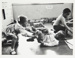 [Untitled, two boys and a little girl playing in a nursery]. ; Heron, Reginald; 1966; 1972:0159:9999