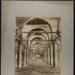 Le Caire, Int. de la Mosquée d'Amrou (Mosque of ʻAmr ibn al-ʻĀṣ, Cairo, Egypt). ; Bonfils, Félix; c.a. 1870s; 1979:0112:0010