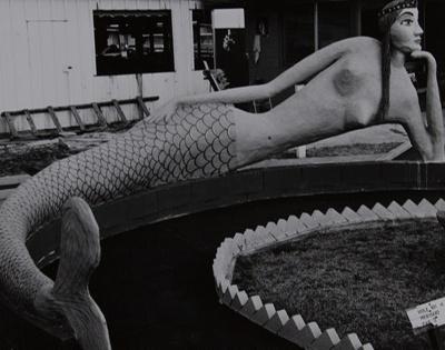 Untitled [Mermaid]; Starr, Nina Howell; ca. late 1960s; 1971:0314:0001