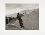 Man Leaning on Shovel; Rosenblum, Walter; 1959; 1973:0026:0014