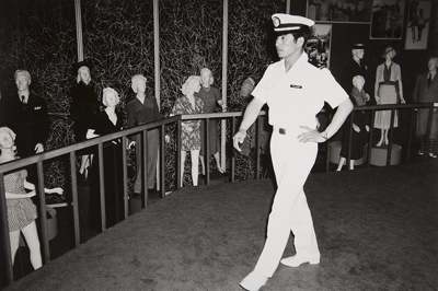 Untitled [Naval officer]; Hume, Sandy; 1976; 1977:0099:0002