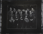 Untitled, [group of women wearing