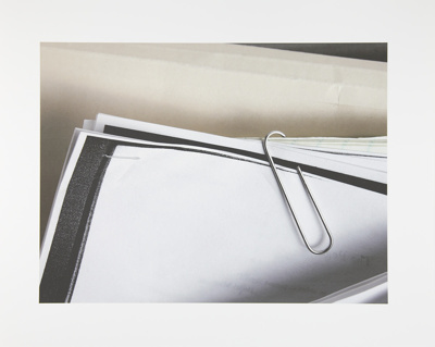Untitled [Paper clip]; Manchee, Doug; 2008; 2009:0060:0005