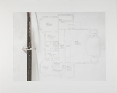 Untitled [Floor plan]; Manchee, Doug; 2009; 2009:0060:0076