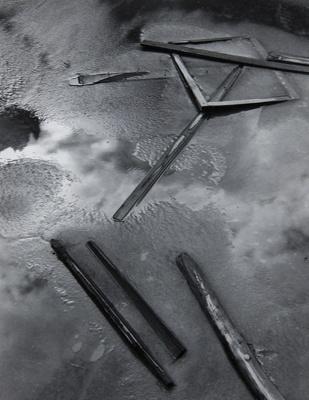 Settling Pond; Prather, Winter; 1952; 1981:0025:0005