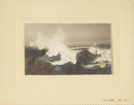 Untitled [Waves]; Thompson, Fred; ca. 1900s; 1986:0024:0009