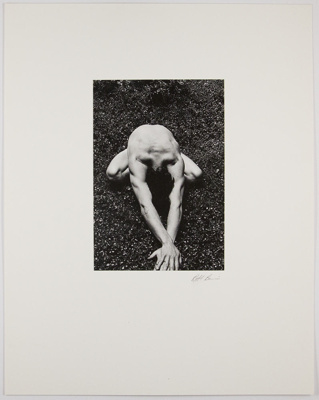 Untitled [Male figure]; Barci, Bob; ca. 1973; 1974:0003:0010