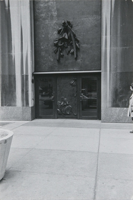 Untitled [Building entrance]; Dane, Bill; ca. 1974; 2011:0014:0015